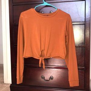 Burn orange Forever 21 shirt